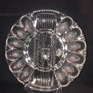 1950's L.E. Smith Egg Plate
